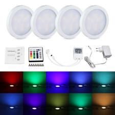 4pcs RGB LED 12V-LED Unterbauleuchte Schrankleuchten Küchenlampen Decken Lampe