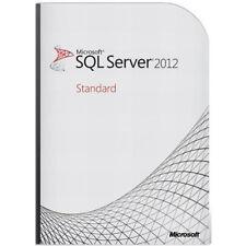 MICROSOFT SQL SERVER 2012 STANDARD + 10 CAL ESD KEY MULTILANGUAGE FATTURA