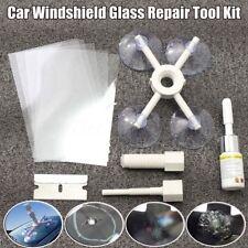 Car Window Glass Crack Chip Resin Windscreen Windshield Repair DIY Tool Kit Top
