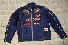 HONDA jacket racing blue f1 L large Men bomber