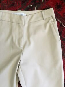 White Closet Camel Cotton Chinos Brand New sz 8