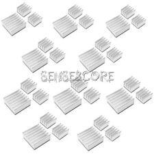 10Set 30Stück Aluminum Heatsink Kühler Kit Für Kühlung Raspberry Pi.