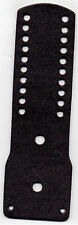 New York/New Jersey Police-Style-Leather Backer Shield/Nameplate/10-Citations