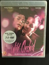 WILD ORCHID (1989) ***RARE OOP***  UNCUT UK BLU RAY - NEW FACTORY SEALED