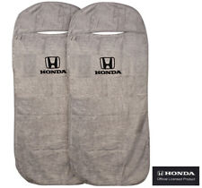 Seat Armour Universal Grey Towel Front Seat Covers for Honda -Pair