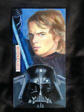 More details for original sketch card - star wars: revenge of sith - by dye