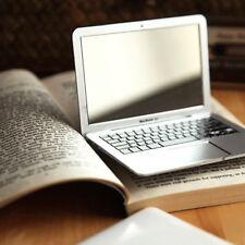 MAKEUP Mini Pocket MacBook Air Laptop Style Glass Women Beauty Mirror Sliver