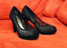 MAGIC Damenschuhe 39 Pumps Damen Schuhe Party High Heels Schwarz NEU