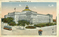 Postcard Library Of Congress, Washington, DC