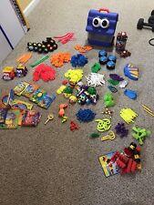 Huge 430+ Piece Lot of Kid K'Nex Preschool Building Toys Including Case And More
