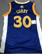 Stephen Curry Signed Golden State Warriors Jersey PSA/DNA