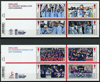 GB Stamps 2019 MNH ICC Cricket World Cup Winners Sports 2x 4v M/S