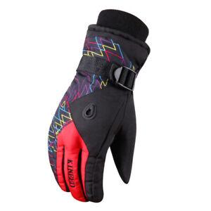 Adult Lovers Outdoor Sport Winter Waterproof Ski Snowboard Cycling Hiking Gloves