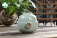 Xiang Long * Ru Kiln Celedon Gongfu Tea Cup & Teapot Set