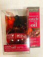 Cuccio Cuticle oil 2.5 fl oz+ 0.5 oz mini bottle in Milk & Honey OR Pomegranate