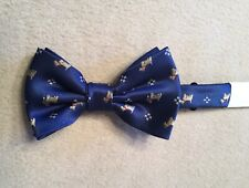 Dog Pattern Bow Tie Terrier Animal Party Butterfly Cravat Christmas Gift Unisex