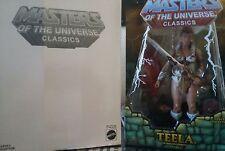 Teela prima edizione MOTUC Masters of the Universe Classic MISB motu