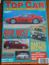Top Car Jul 1994 Hatge BMW 320i, Lotec Porsche & Ferrari, Calibra Turbo