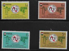 Ghana Scott #204-07, Singles 1965 Complete Set FVF MNH