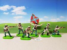 Britains ACW deetail Confederate infantry set (lot 2623)