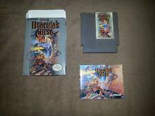 CASTLEVANIA III - DRACULA'S CURSE - Nintendo NES, NTSC-US (manuale e repro box)