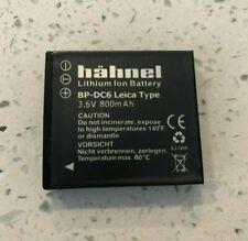 Leica hahnel Battery HL-008 BP-DC6-E BP-DC6-U 18675 18676 for C-LUX 3 & C-LUX 2