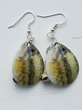 Fishing Lure Earrings, Handmade Jewelry, Unique Gift, CAN-05-4-045 Bass