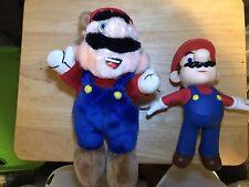 Rare Vintage 1990 Nintendo Super Mario Bros 3 Plush by ACME. Flying 2009 Mario