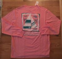Vineyard Vines Mens Graphic T-Shirt Shirt Simple Sail Sailboat XL NEW