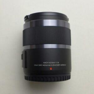 Black YI 42.5mm F1.8 Fixed Lens for Panasonic GF6 GF7 GF8 GF9 GF10 GX85 G85 HAU