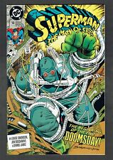 Superman Man of Steel #18 First Doomsday DC Comics 1992 NM Death of Superman