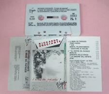 MC RICCARDO COCCIANTE Il mare dei papaveri 1985 italy VIRGIN no cd lp vhs  dvd