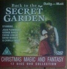 DVD -  MAGIC & FANTASY - BACK TO THE SECRET GARDEN - NEWSPAPER PROMOTION
