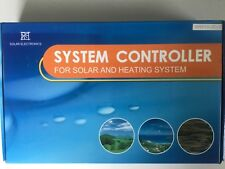 SYSTEM CONTROLLER FOR SOLAR AND HEATING SYSTEMS