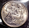 1948 SWITZERLAND 5 FRANC SILVER... BU.............MIN. BID .01 & NO RESERVE!