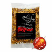 Ghost Pepper Bombay Mix. Very Hot Chilli Mixed Snack. -Naga Jolokia Multi Pack