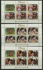 Niue  1985   Scott #   476-478     Mint Never Hinged Sheet Set