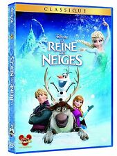 DVD *** LA REINE DES NEIGES *** ( Walt Disney N° 109 ) neuf sous blister