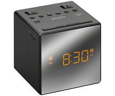 Radio despertador negros Sony