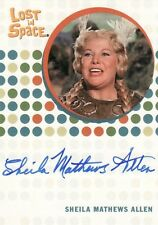 The Complete Lost in Space Sheila Mathews Allen as Brynhilde Auto Card