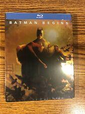Batman Begins Blu-ray Steelbook Brand New Rare Limited 2005 Movie Dark Knight