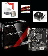 Aufrüst Bundle Kit AMD A8 9600 3,4GHz 8GB DDR4 Set A320 USB3 HDMI VGA R7 Gaming