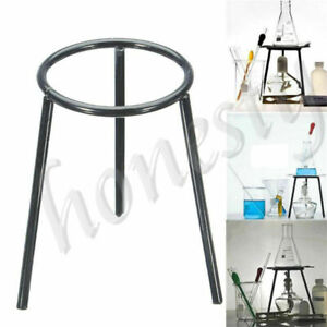 Lab Laboratory Bunsen Alcohol Burner Iron Support Stand Lamp Tripod Holder
