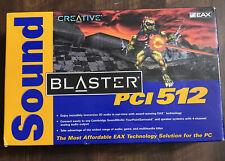 creative sound blaster PCI 512 Digital 4.1 Surround Sound