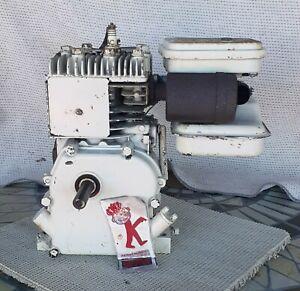 Briggs & Stratton  B&S 2 hp Gas engine original 60102 Horizontal 1960s?  Runs