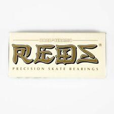 8 Pcs Ceramic Precision bearing Roller skateboard inline skate Super Reds Bones