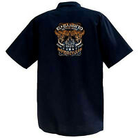 El Bandido Motorcycles - Mechanics Graphic Work Shirt  Short Sleeve
