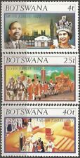 BOTSWANA 1977 SILVER JUBILEE REIGN OF QE2 Sc179-81 COMPLETE MNH SET 0488