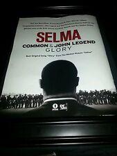 Common John Legend Selma Glory Original Promo Poster Ad Framed!