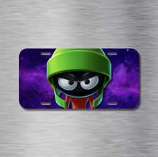 Marvin the Martian Front License Plate Looney Tunes Cartoon Alien New